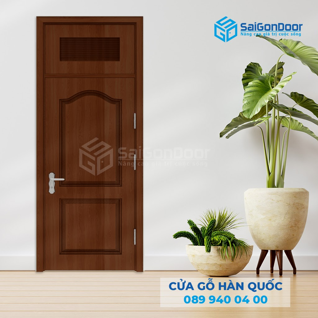 SaiGonDoor tự tin là cơ sở cung cấp cửa gỗ chịu nước uy tín chất lượng